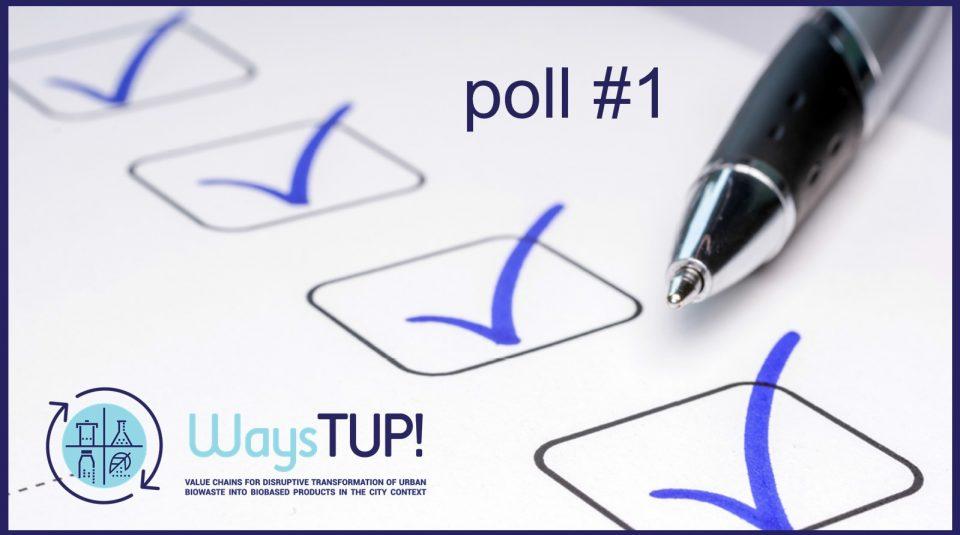 WAYSTUP poll #1