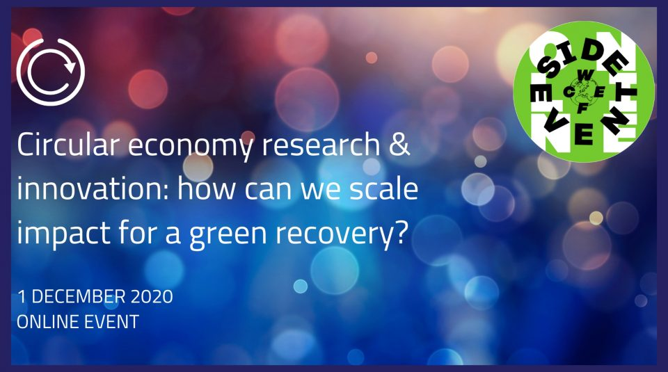 waystup_Circular economy research & innovation for a green recovery